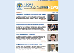 ASCRS Research Foundation News